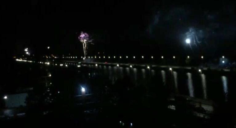 Vuurwerk afgestoken aan de Watersportbaan in Gent, maar wie en waarom?