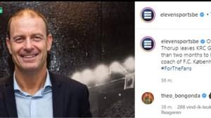 Théo Bongonda reageert met opgestoken middelvingers op vertrek Jess Thorup, Joakim Maehle krijgt 'sorry' van FC Kopenhagen