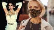 De trend van Madonna: een collectie kettingen rond de hals