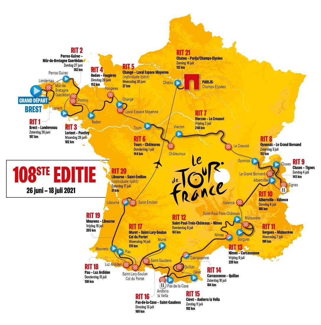 2 Etappe Tour De France 2021