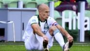 Arjen Robben blijft komende weken buiten selectie van Groningen