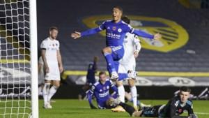 Leicester City pakt de scalp van promovendus Leeds United dankzij twee goals van Youri Tielemans