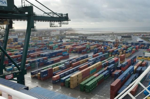 Transmigrant al 17 keer betrapt in haven Zeebrugge