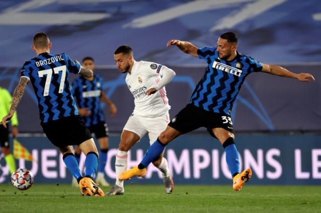 Real Madrid ligt weer op koers: Thibaut Courtois tweemaal geklopt, maar vervanger van Eden Hazard klaart de klus tegen Inter