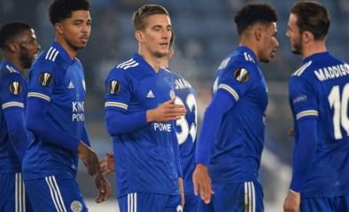 Overzicht Europa League. Invaller Praet scoort voor Leicester, Benfica haalt met tien man twee goals op