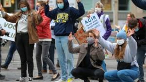 Youth for Climate hekelt voor tweede week op rij Europees Landbouwbeleid