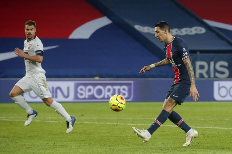 Jérémy Doku verliest met Rennes kansloos van PSG, dat 4 (!) spelers ziet uitvallen