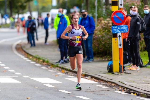 Derde plaats voor Nina Lauwaert in halve marathon van Dresden