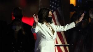 """Kamala Harris: """"Nieuwe dag ingeluid voor Amerika"""""""