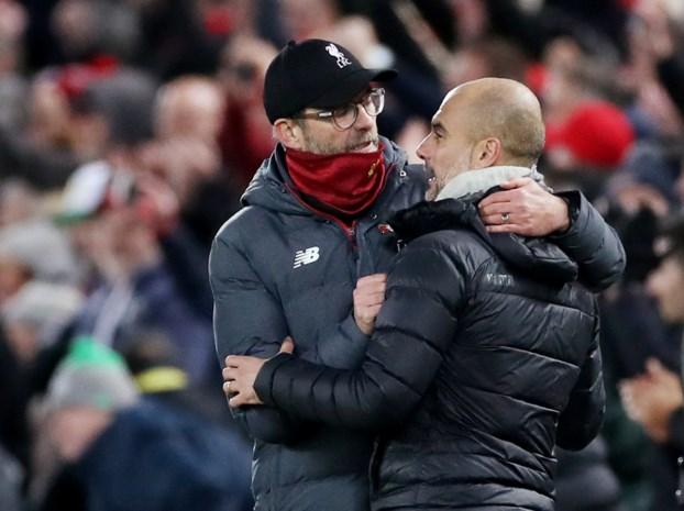 Deze vijf opvallende cijfers maken de topper tussen Manchester City en Liverpool extra boeiend