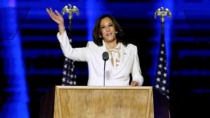 """Kamala Harris, de vrouw die nu al geschiedenis schrijft: """"Ik zal dan wel de eerste vrouwelijke vicepresident zijn, maar zeker niet de laatste"""""""