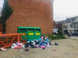 Is containerklimmer verantwoordelijk voor stort aan kledingcontainers?