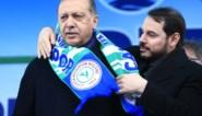 Erdogan aanvaardt ontslag van schoonzoon als minister van Financiën