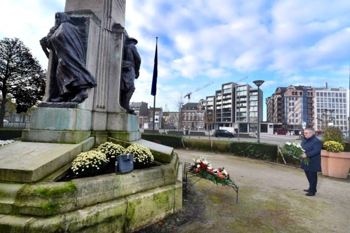 Eenzame burgemeesters herdenken in alle stilte Wapenstilstand