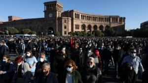 Massale protesten in Armenië tegen overeenkomst over Nagorno-Karabach