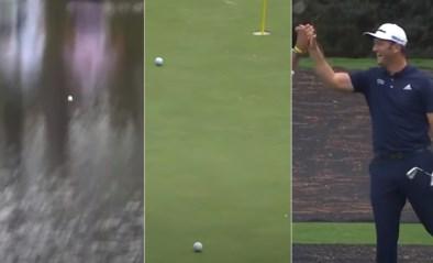 Stukje magie dat al 3 miljoen keer bekeken werd: topgolfer Jon Rahm laat bal over water dansen voor sublieme hole-in-one