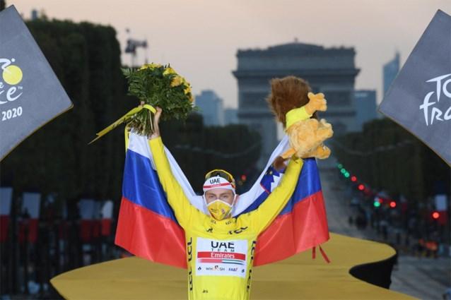 Tadej Pogacar wipt naar leiding in UCI-ranking, Deceuninck-Quick-Step voert ploegenklassement aan