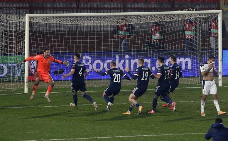 Een primeur, overdosis suspense en Mitrovic (ex-Anderlecht) anti-held: Noord-Macedonië, Hongarije, Slovakije en Schotland naar EK voetbal