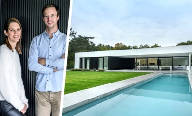 Een minimalistische woning met zwembad op het dak van hun magazijn: binnenkijken bij Bart en Katrien in Westmalle