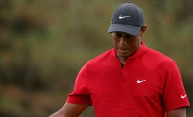 Pijnlijk gevecht tegen twaalfde hole: titelverdediger Tiger Woods belandt op historisch dieptepunt op Masters