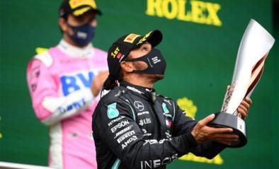 """Lewis Hamilton door het dolle heen na zevende wereldtitel in de F1: """"Droom het onmogelijke"""""""