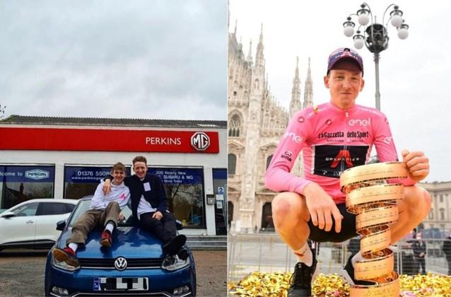 """Verrassende Giro-winnaar Hart loopt een blauwtje en moet auto kopen voor broertje: """"Wed nooit tegen jezelf"""""""