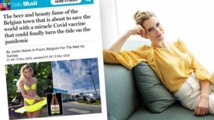 Britse tabloid ontdekt Dina Tersago