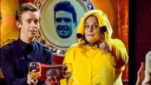Jonas Van Geel, Nathalie Meskens, Ruth Beeckmans en Guga Baúl zorgen voor soort 'Tegen de sterren op'-reünie in nieuwe comedyshow 'RIP 2020' op VTM