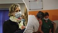 Prinses Delphine betuigt haar steun aan zorgpersoneel als 'boegbeeld' van grote vaccinatie-actie