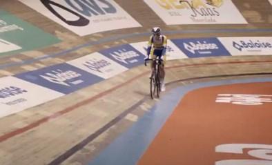 Fabio Van Den Bossche zet eerste richttijd neer voor De Snelste Ronde in het Gentse Kuipke
