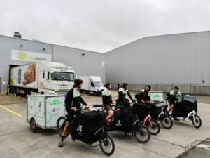 """Fietskoeriers van Cargo Velo verhuizen van Gentbrugge naar Stropkaai: """"Ideale ligging"""""""