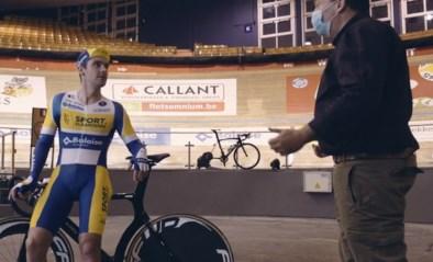 Kenny De Ketele zet collega's onder druk voor De Snelste Ronde in het Gentse Kuipke