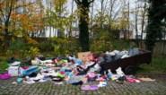 Ivago moet alweer groot sluikstort in Gent opruimen: zelfs de aanhangwagen stond er nog