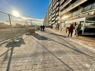 Franchommelaan terug open voor voetgangers, wagens vanaf volgende week toegelaten