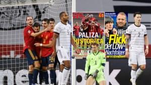 Spaanse pers in de ban van historische zege, Duitse media viseren bondscoach Löw