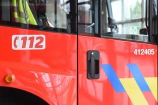 Brand op Brusselsesteenweg veroorzaakt verkeershinder in Melle