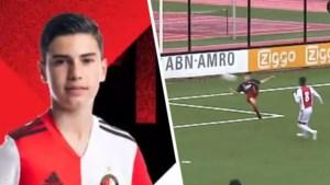 Shaqueel van Persie treedt bij Feyenoord in voetsporen van vader Robin, en dat als eerste jeugdspeler ooit