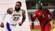 De LeBron James in Romelu Lukaku: alleen hun sport is niet dezelfde