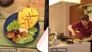 RECEPT. Poké bowl met falafel en roze saus