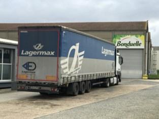 Zes illegalen verstopt in vrachtwagen bij groentenbedrijf Bonduelle