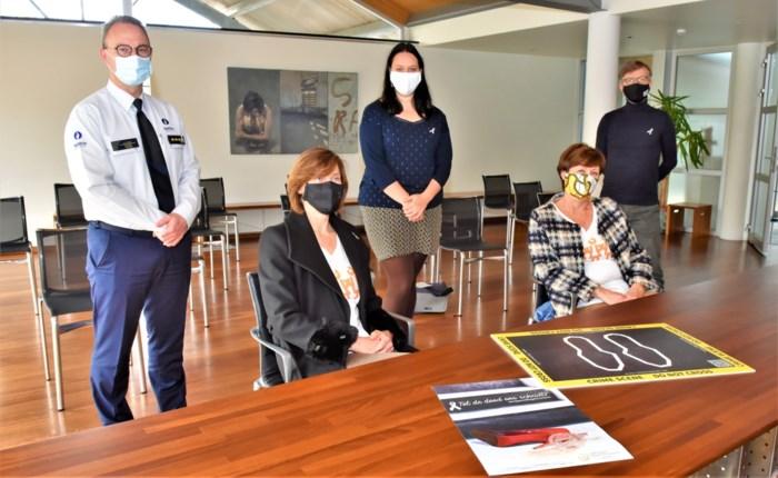 CD&V-vrouwen delen lintjes uit om geweld tegen vrouwen aan te kaarten