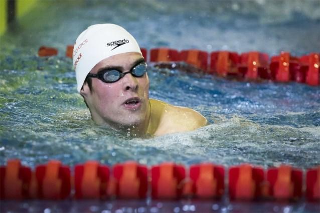 Lander Hendrickx verpulvert dertien jaar oud Belgisch record op de 800m vrije slag in klein bad