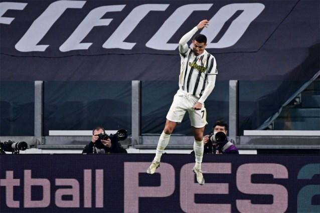 Cristiano Ronaldo - wie anders - loodst Juventus naar makkelijke zege tegen Cagliari