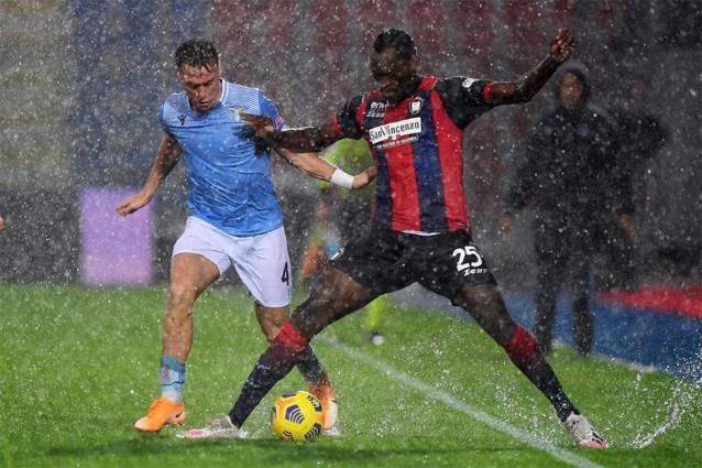 Ciro Immobile bezorgt SS Lazio zege op dramatisch veld en is nu gedeeld all-time clubtopschutter
