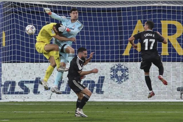 Penaltyfout Thibaut Courtois en een bleke Eden Hazard: Real Madrid lijdt nog maar eens puntenverlies in La Liga