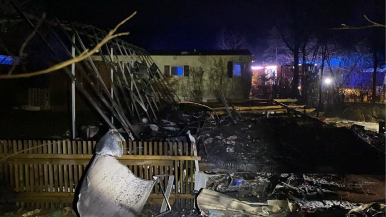Vrouw zwaargewond bij ontploffing in stacaravan