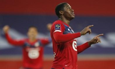 Jonathan David (ex-AA Gent) scoort eerste doelpunt voor Lille, dat tot op 2 punten van leider PSG nadert