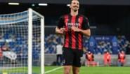 Zlatan Ibrahimovic loodst AC Milan met twee goals voorbij Napoli, waar ook Dries Mertens zijn doelpuntje meepikt