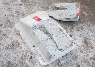 Betonnen tractorsluis tegen sluipverkeer na amper een week al vernield