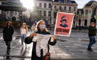 Actievoerders op Kouter willen gerechtigheid voor doodgeschoten peuter Mawda (2)